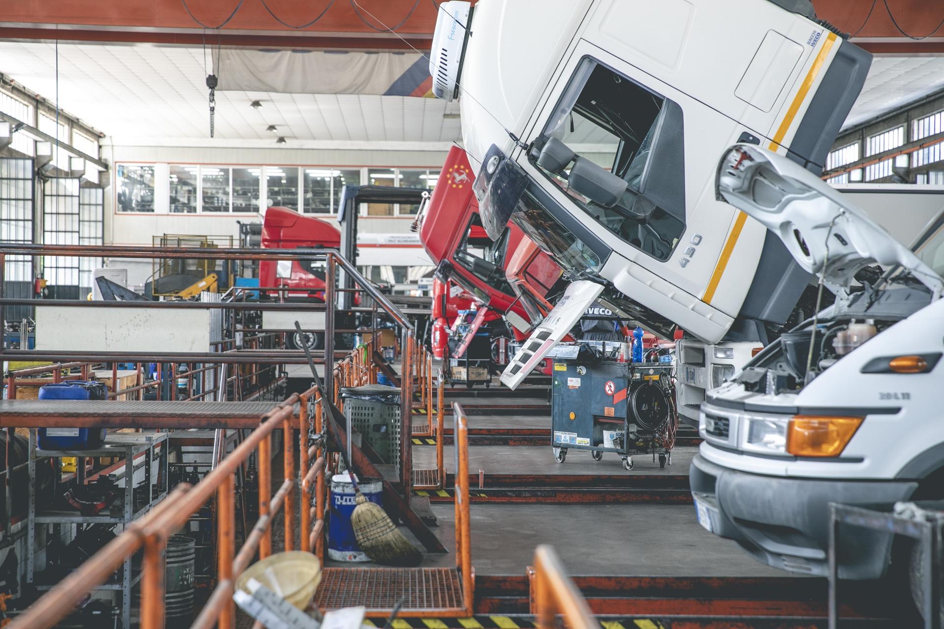 Soma Officina Cesena riparazione veicoli industriali revisione